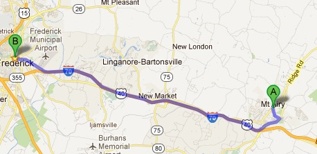 Mt Airy Map