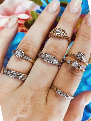 Spring Engagement Rings